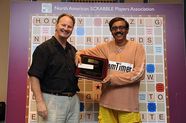 2012 NSC CSW Division winner Sam Kantimathi with NASPA's Chris Cree